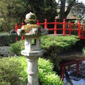 The Red Bridge at Japanese Gardens