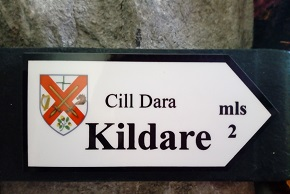 Kildare Road Sign Magnet