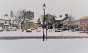Market Square, Snow day 2