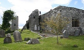 oughterard-round-tower-and-cemetery-featured