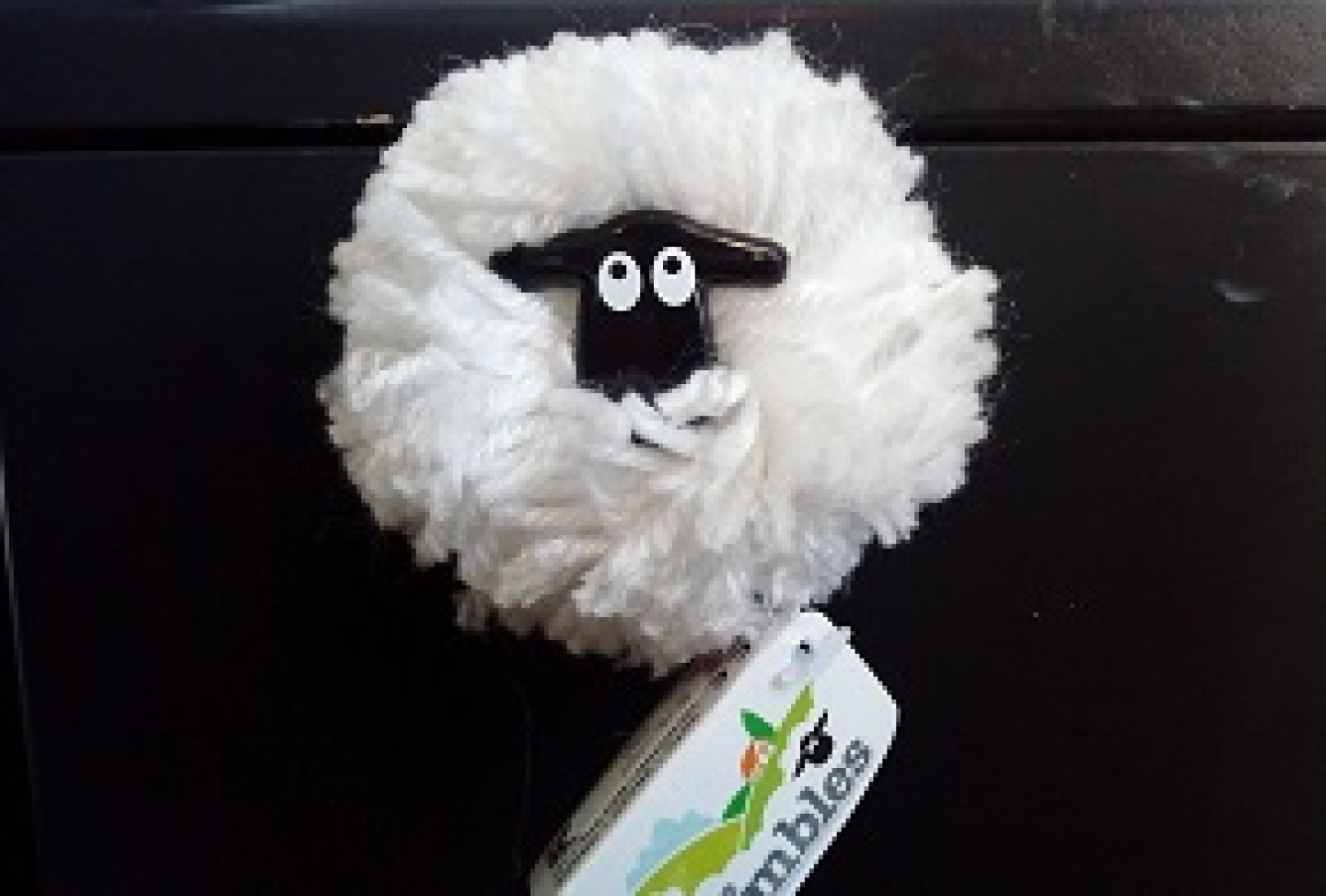 Fluffy Sheep Magnet